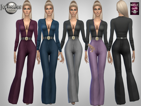 Naelle outfit by jomsims at TSR image 249 Sims 4 Updates