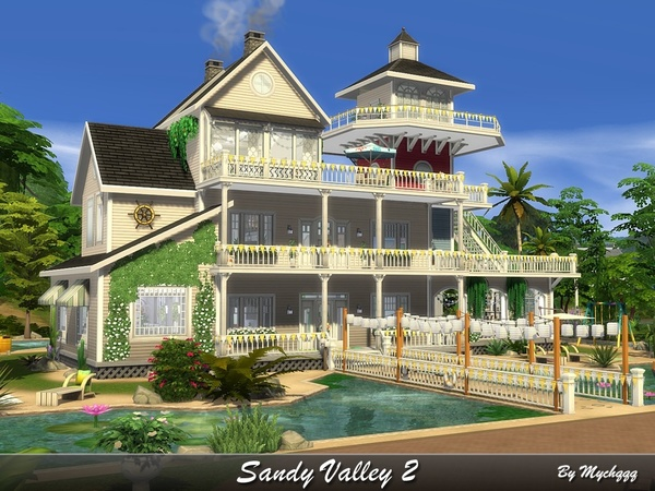 Sandy Valley 2 by MychQQQ at TSR image 2516 Sims 4 Updates