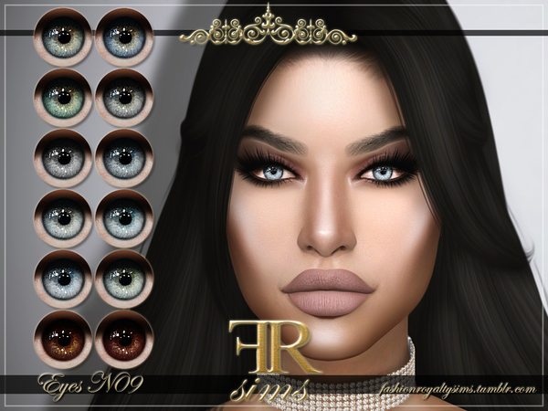 FRS Eyes N09 by FashionRoyaltySims at TSR image 2613 Sims 4 Updates