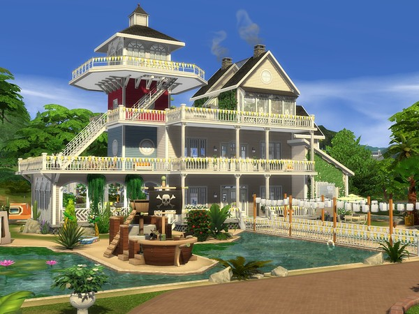 Sandy Valley 2 by MychQQQ at TSR image 2617 Sims 4 Updates