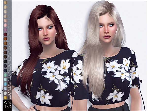 Eden hair by Anto at TSR image 2623 Sims 4 Updates