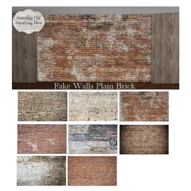 Grunge Fake Walls at Simthing New image 2641 670x670 Sims 4 Updates