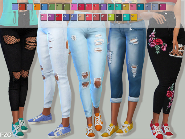 Super Star Sneakers Recolor For Female by Pinkzombiecupcakes at TSR image 268 Sims 4 Updates
