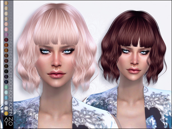Nhoa Hair by Anto at TSR image 27 Sims 4 Updates