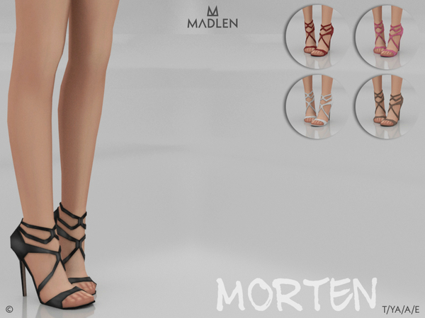 Madlen Morten Shoes by MJ95 at TSR image 2718 Sims 4 Updates
