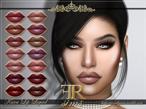 FRS Kara Lip Liquid by FashionRoyaltySims at TSR image 272 Sims 4 Updates