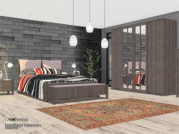 Brooklyn Bedroom by ArtVitalex at TSR image 274 Sims 4 Updates