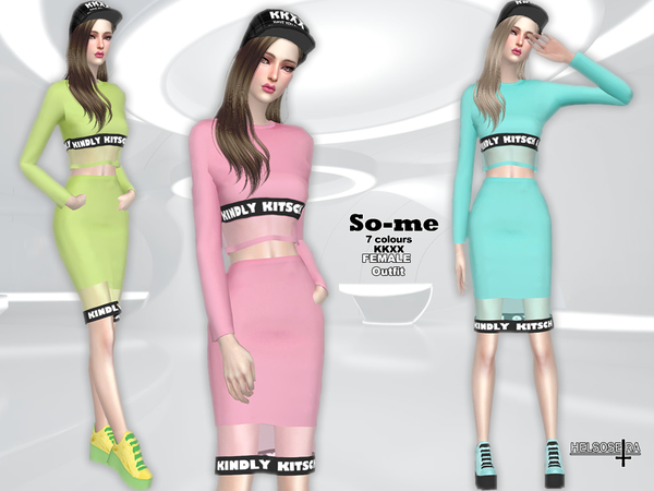 Sims 4 SO ME Outfit by Helsoseira at TSR
