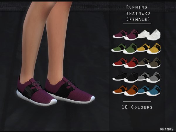Sims 4 Running Trainers F by OranosTR at TSR