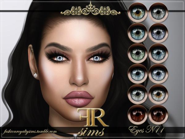 Sims 4 FRS Eyes N11 by FashionRoyaltySims at TSR