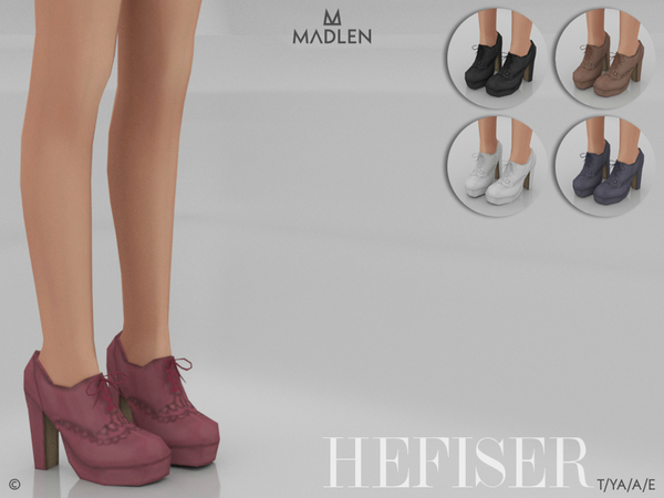 Madlen Hefiser Shoes by MJ95 at TSR image 299 Sims 4 Updates