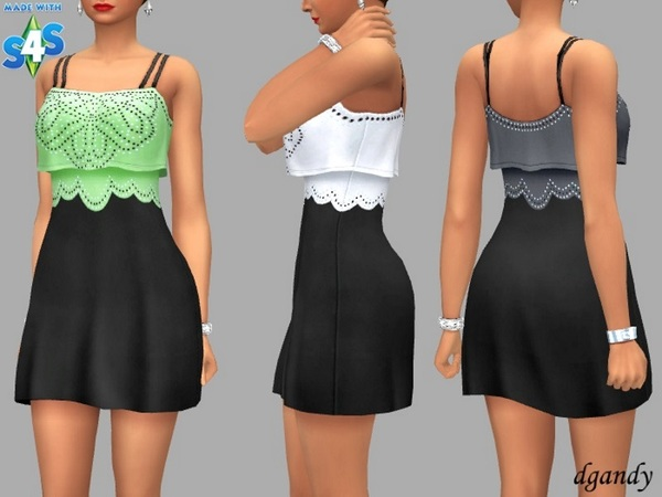 Demi dress by dgandy at TSR image 3020 Sims 4 Updates