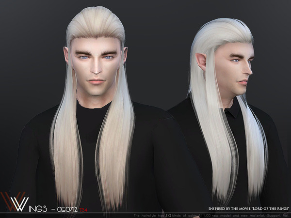 Hair OE0712 by wingssims at TSR image 309 Sims 4 Updates