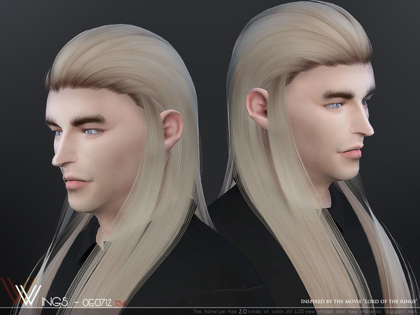 Hair OE0712 by wingssims at TSR image 3113 Sims 4 Updates