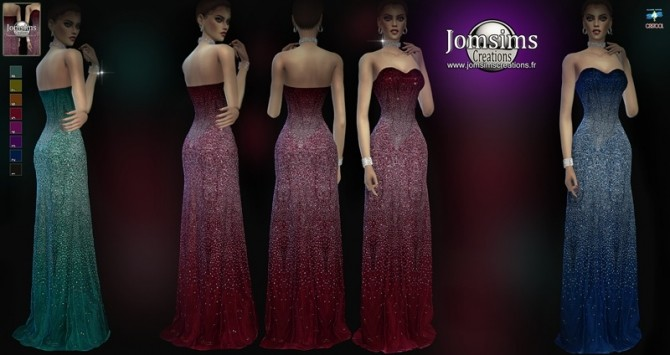 Aslesyl Dress at Jomsims Creations image 3126 670x355 Sims 4 Updates