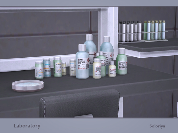 Laboratory set by soloriya at TSR image 321 Sims 4 Updates