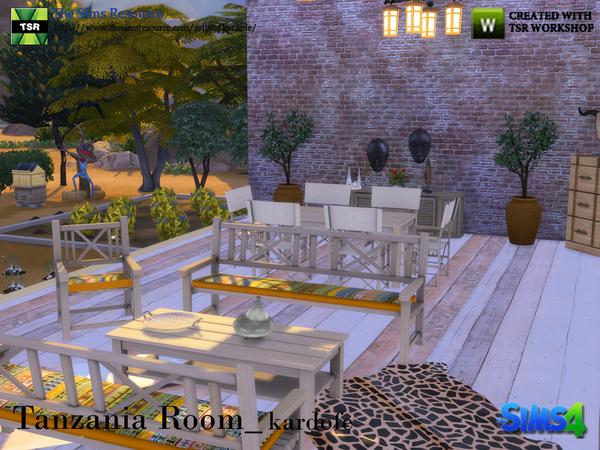 Tanzania Room by kardofe at TSR image 3222 Sims 4 Updates