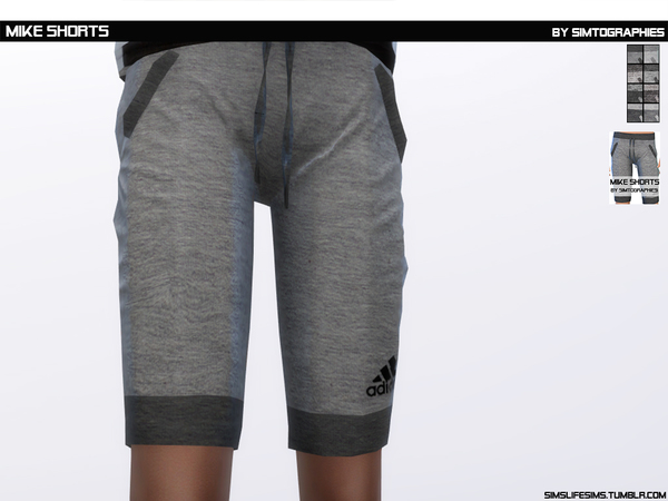 Mike Shorts by simtographies at TSR image 330 Sims 4 Updates