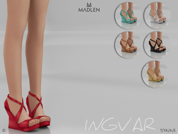 Sims 4 Madlen Ingvar Shoes by MJ95 at TSR