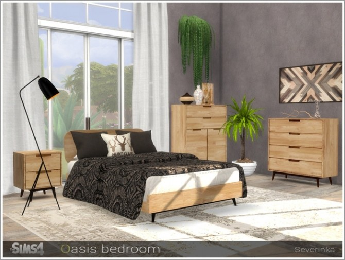 Oasis bedroom by Severinka at TSR image 3319 670x505 Sims 4 Updates