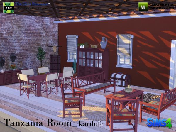 Tanzania Room by kardofe at TSR image 3321 Sims 4 Updates