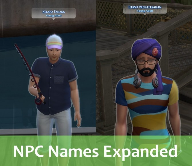 NPC Names Expanded by nyandesu at Mod The Sims image 333 670x582 Sims 4 Updates