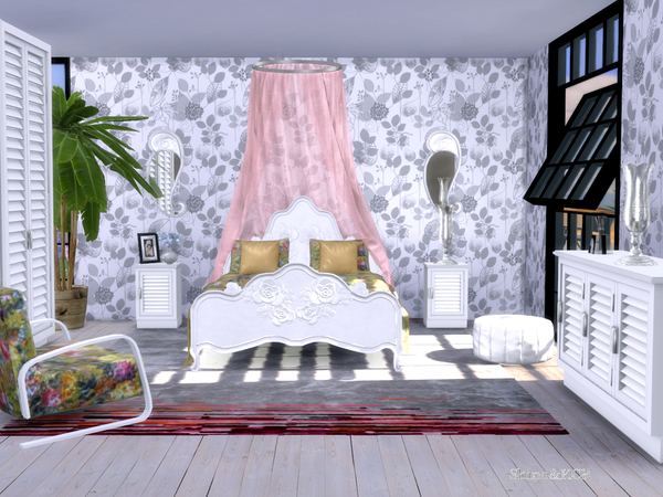 Bedroom Delight by ShinoKCR at TSR image 345 Sims 4 Updates