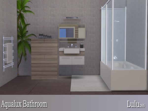 Aqualux Bathroom by Lulu265 at TSR image 3517 Sims 4 Updates