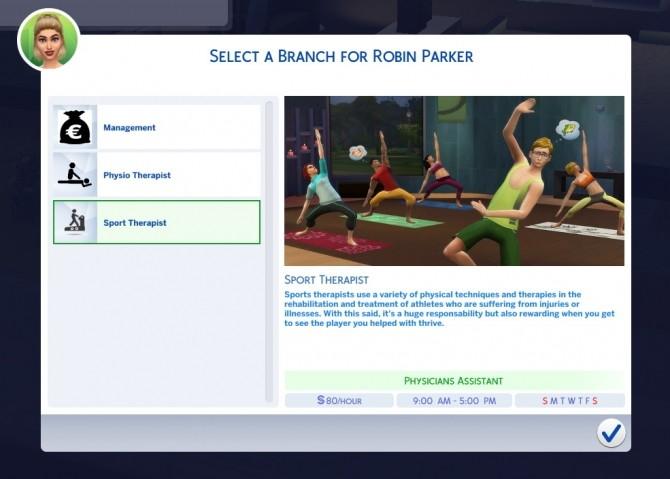 Sports Massage Therapist Career by tumblrpotato at Mod The Sims image 359 670x479 Sims 4 Updates