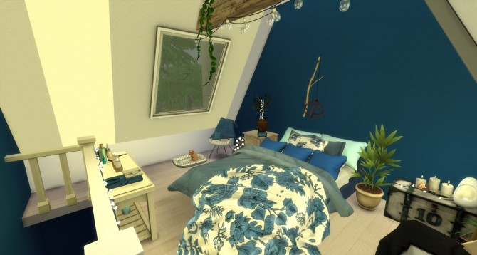 River attic bedroom at Pandasht Productions image 3622 670x358 Sims 4 Updates
