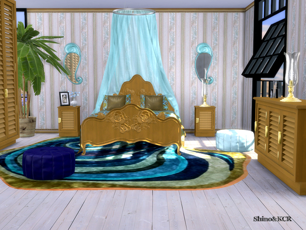 Bedroom Delight by ShinoKCR at TSR image 365 Sims 4 Updates