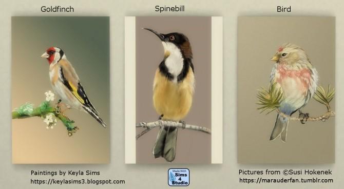 Sims 4 Susi Hokeneks paintings 2 at Keyla Sims
