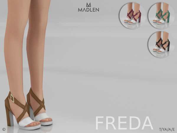 Madlen Freda Shoes by MJ95 at TSR image 3810 Sims 4 Updates