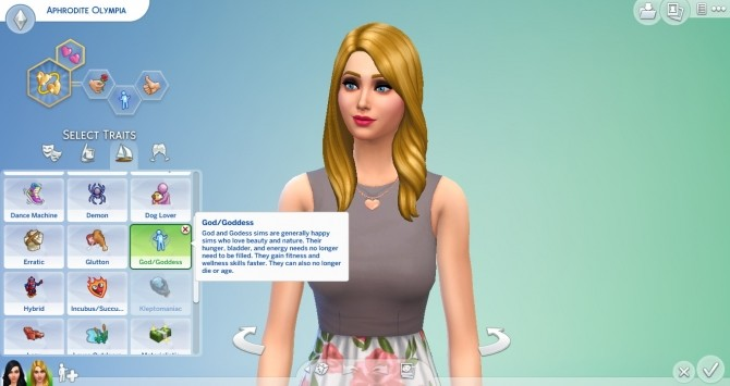 Sims 4 God/Goddess Trait by TheLovelyGameryt at Mod The Sims