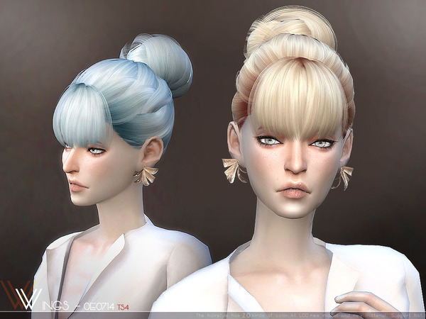 Sims 4 Hair OE0714 by wingssims at TSR