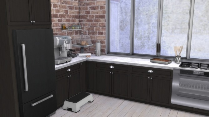 KITCHEN Newport at MODELSIMS4 image 415 670x377 Sims 4 Updates