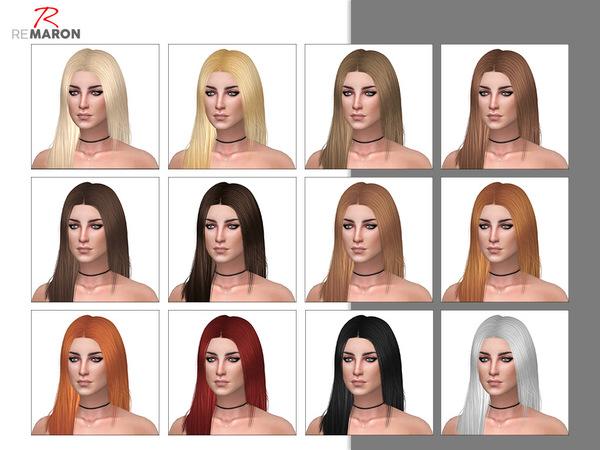 Sims 4 Shyene Hair Retexture by remaron at TSR