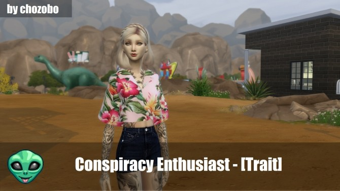 Conspiracy Enthusiast Custom Trait by chozobo at Mod The Sims image 4215 670x377 Sims 4 Updates