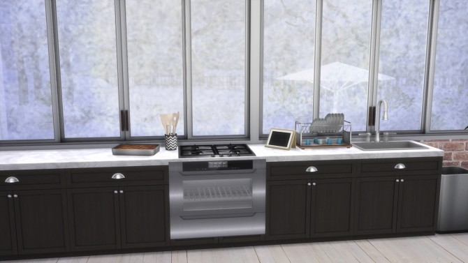 KITCHEN Newport at MODELSIMS4 image 423 670x377 Sims 4 Updates