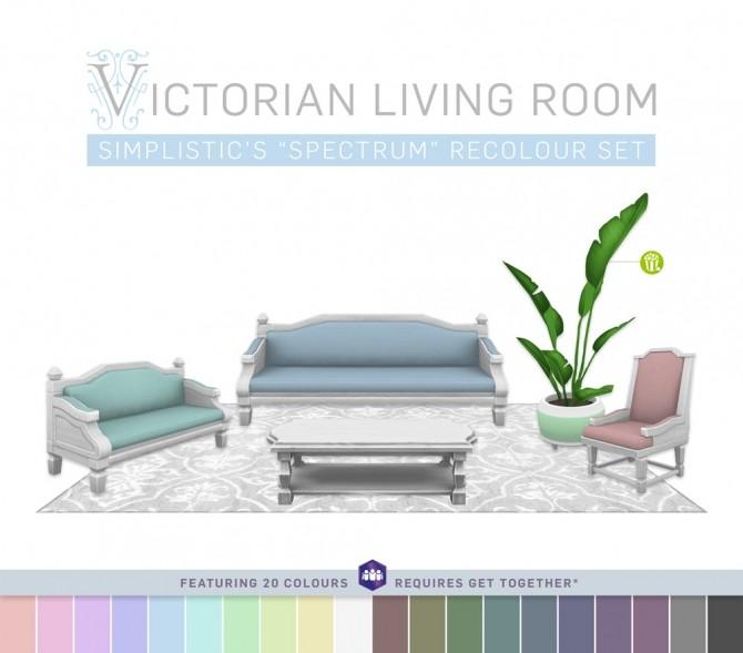 Victorian livingroom (P) at SimPlistic image 4522 670x589 Sims 4 Updates