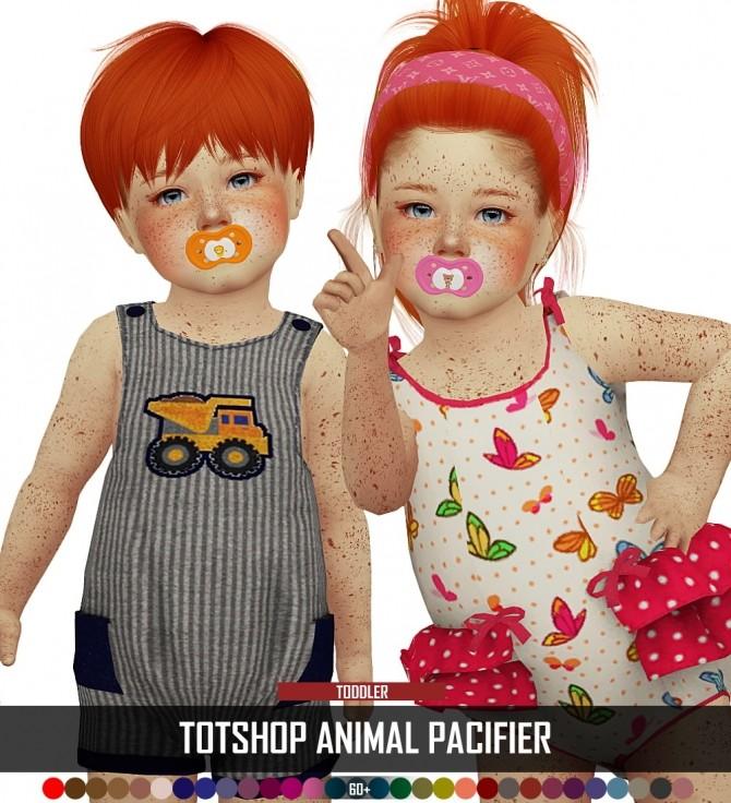 TOTSHOP ANIMAL PACIFIER at REDHEADSIMS image 453 670x736 Sims 4 Updates