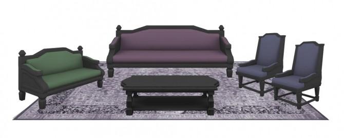 Victorian livingroom (P) at SimPlistic image 4622 670x270 Sims 4 Updates