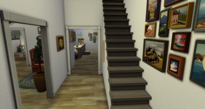 Sims 4 Muti Generational Townhomes by Astonneil at Mod The Sims
