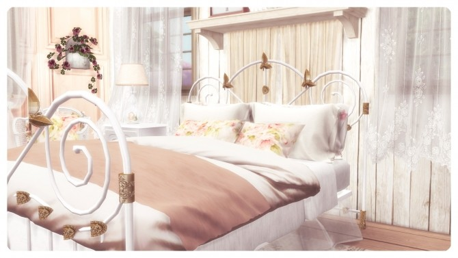 SHABBY CHIC BEDROOM at Dandelion Dust image 474 670x377 Sims 4 Updates