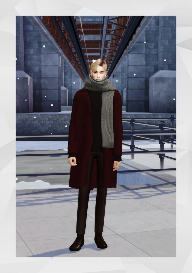 Sims 4 Basic Coat at Gorilla