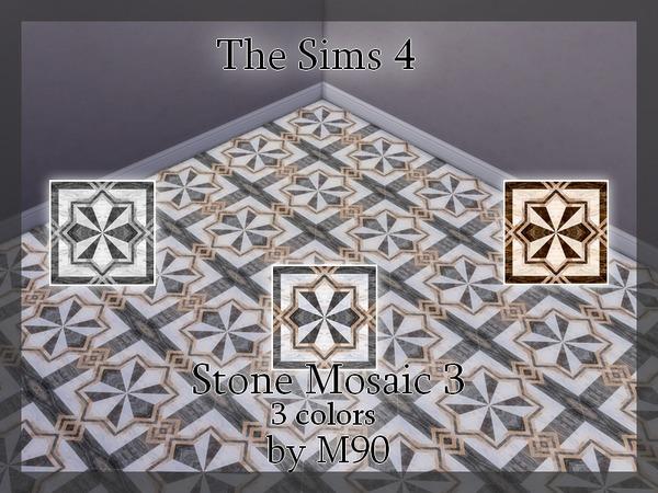 M90 Stone Mosaic 3 by Mircia90 at TSR image 4819 Sims 4 Updates