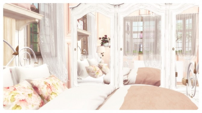 SHABBY CHIC BEDROOM at Dandelion Dust image 484 670x377 Sims 4 Updates