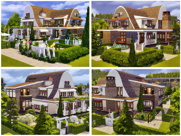 Sims 4 Juliette house by Danuta720 at TSR