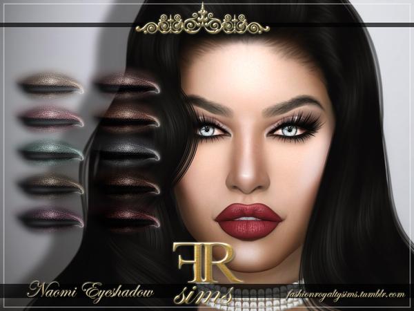 Sims 4 FRS Naomi Eyeshadow by FashionRoyaltySims at TSR