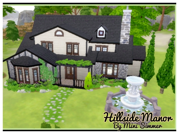 Hillside Manor by Mini Simmer at TSR image 4920 Sims 4 Updates